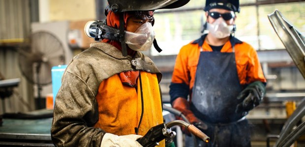 Businesses with welding operations and welding contractors need to assess their controls and respiratory programs, increase their awareness of the hazards, and inform safety officers and workers of the appropriate measures for better respiratory prevention. (CleanSpace Technology photo)