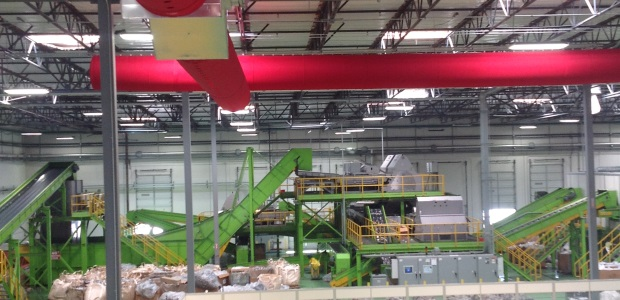 Fabric dispersion systems are used in a variety of industries that require precise air flow. (Rite-Hite photo)
