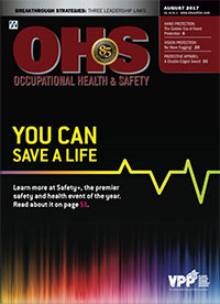 OHS Magazine Digital Edition - August 2017